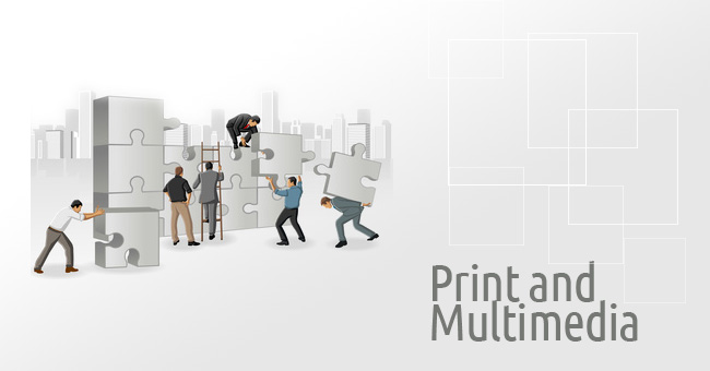 print and multimedia